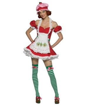 Strawberry Shortcake Costume - Adult Costume  sc 1 st  Wonder Costumes & Adult Strawberry Shortcake Fruit Costume - Women Costumes