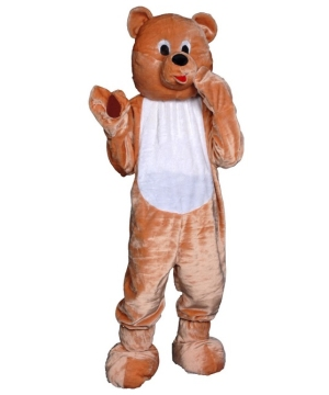 Teddy Bear Mascot Kids Costume