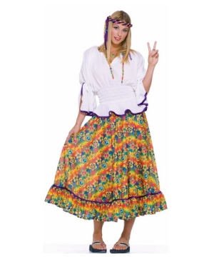 Woodstock Girl Women Costume