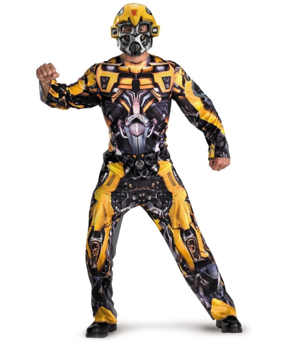 Adult Transformers Bumblebee Movie Costume Men Costumes