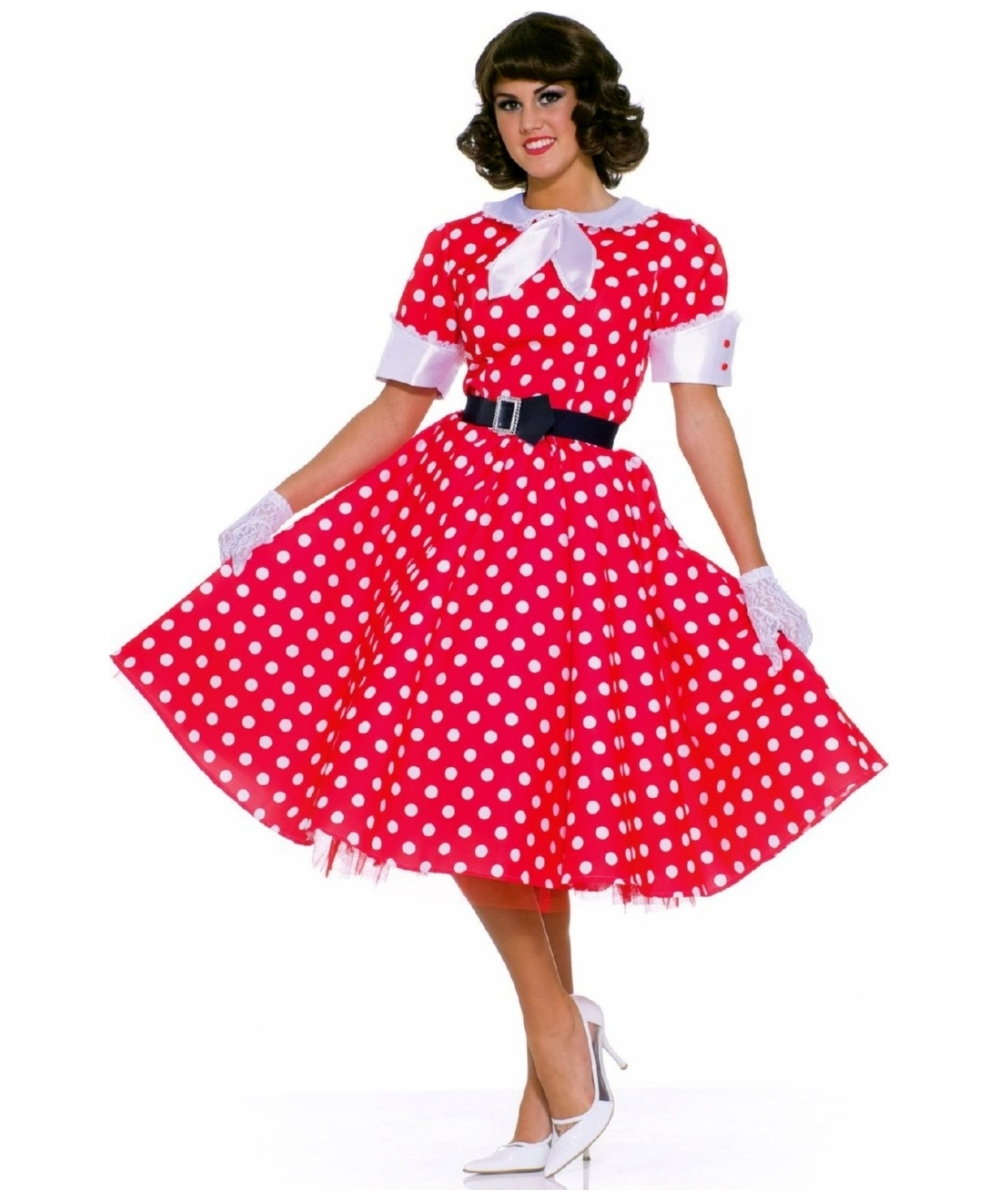 50s Housewife Women Costume