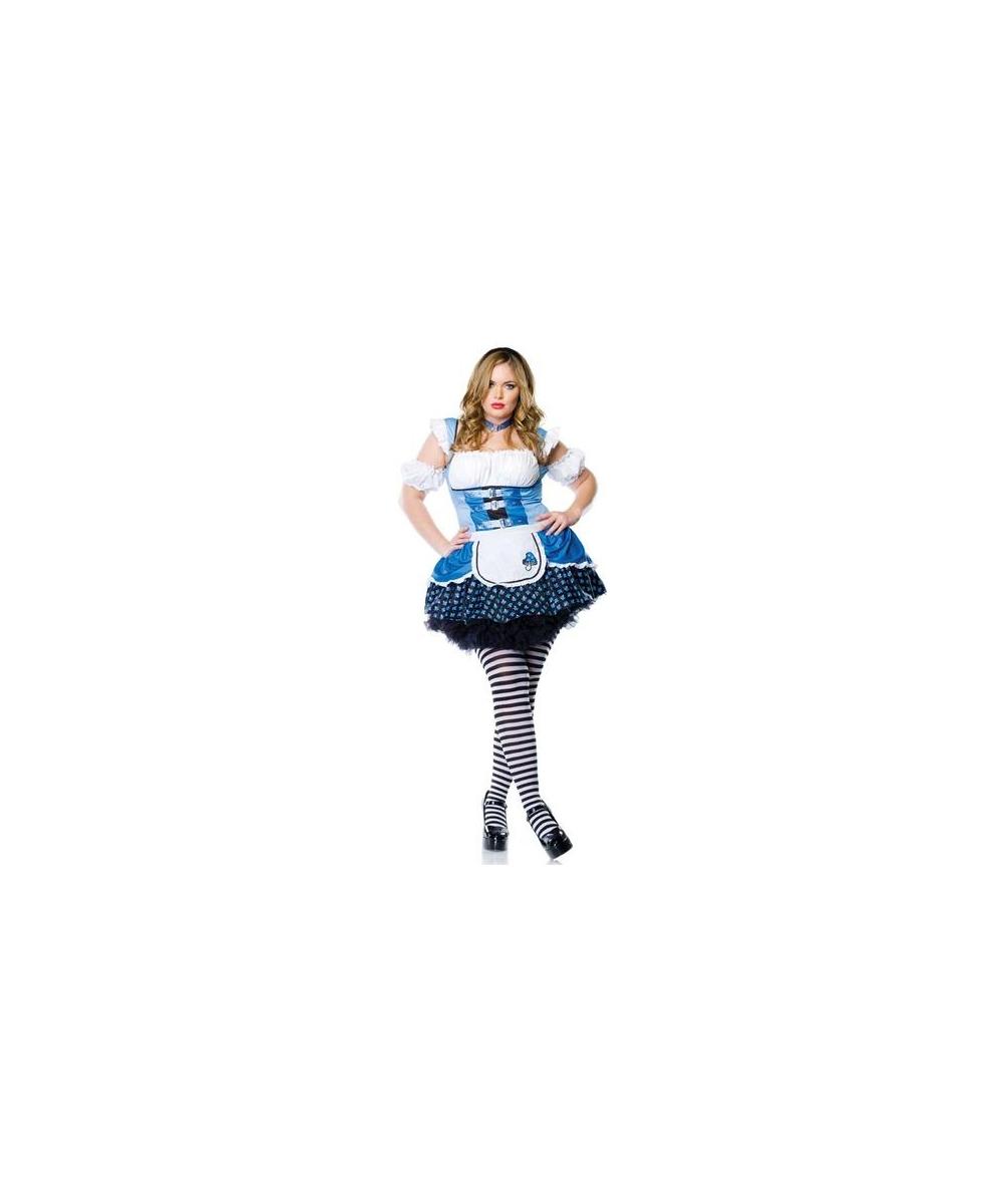 Alice plus size Women Costume  sc 1 st  Halloween Costumes & Plus Size Disney Costumes for Women u0026 Men - WonderCostumes.com