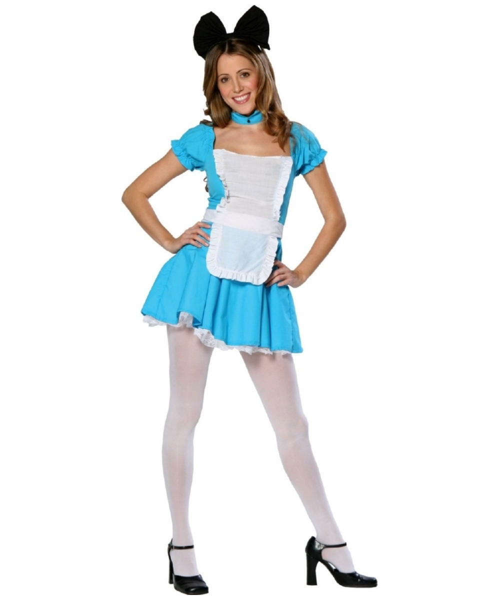 Cute Alice Teen Costume  sc 1 st  Wonder Costumes & Alice Fairy - Girl Alice Costumes