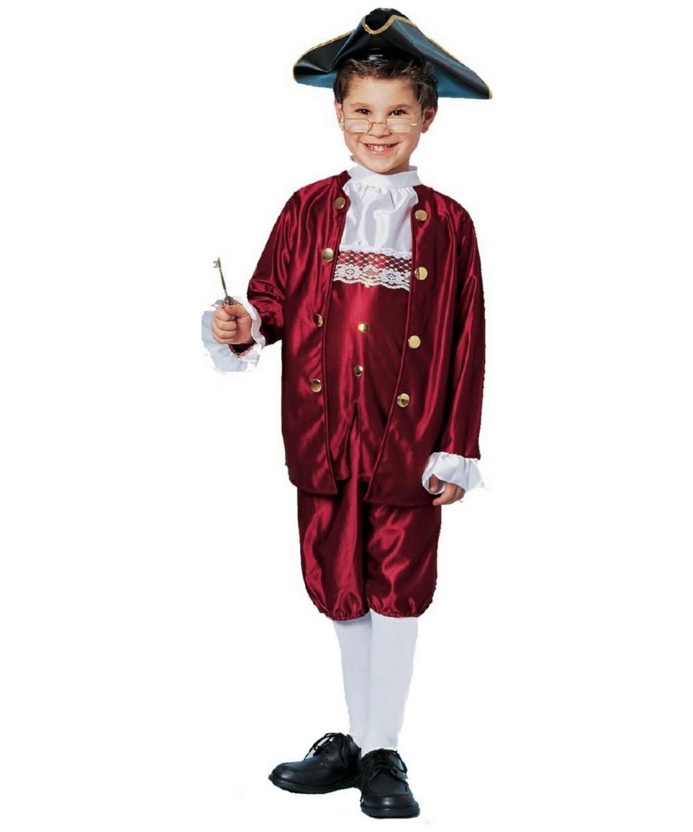 Ben Franklin Child Costume