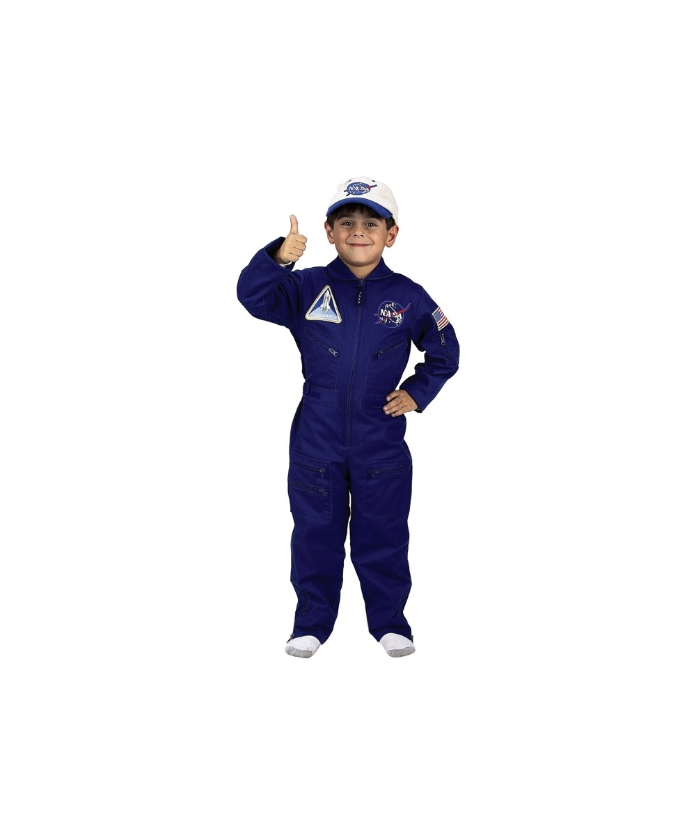 Boys Flight Suit Costume