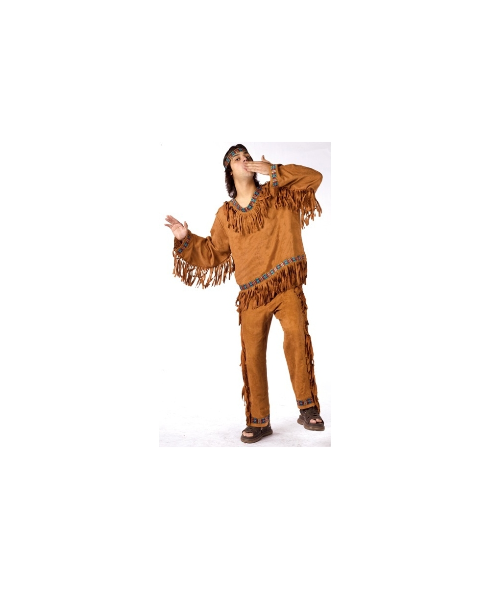 Brave Mens Indian Costume