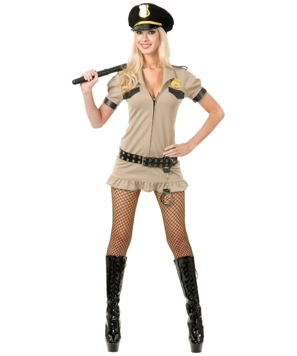 California Sheriff Womens Costume