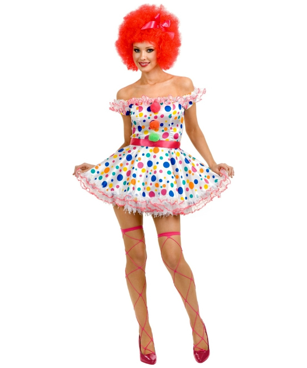 sc 1 st  Halloween Costumes & Clown Circus Adult Costume - Women Clown Costumes