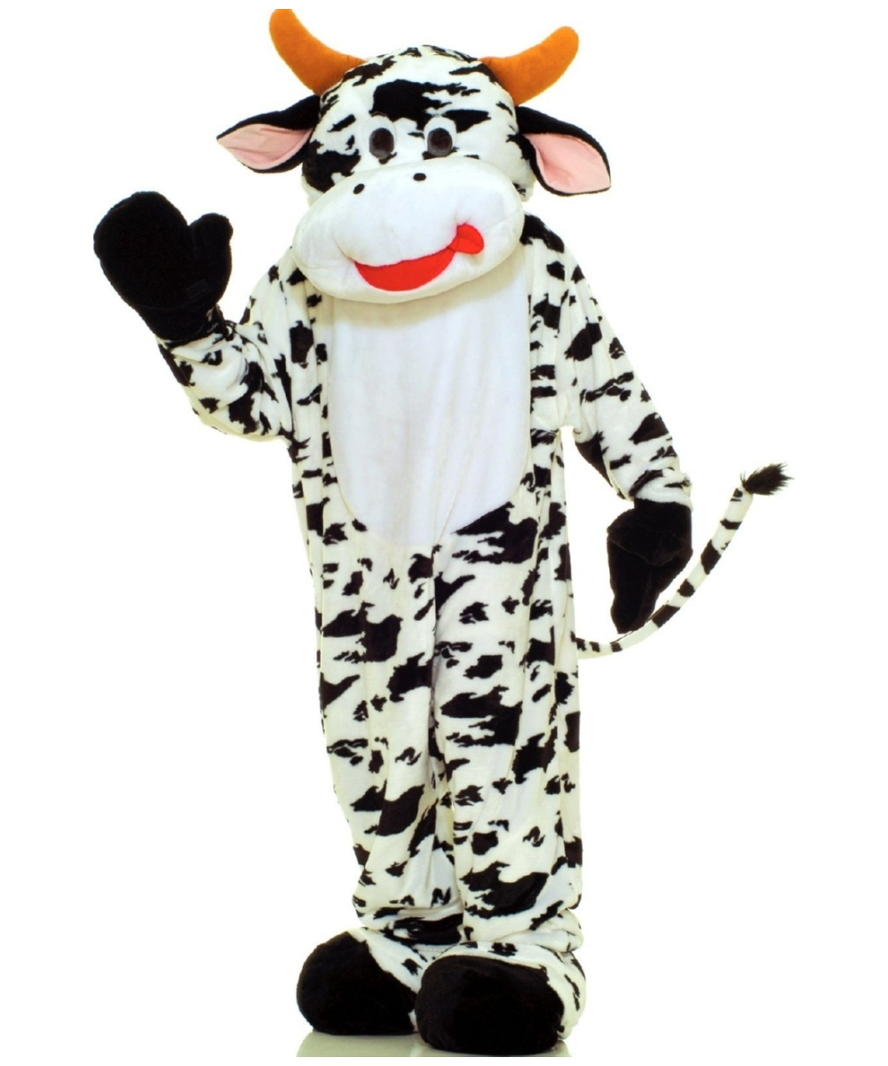 Cow Mascot Costume Adult Halloween Costumes