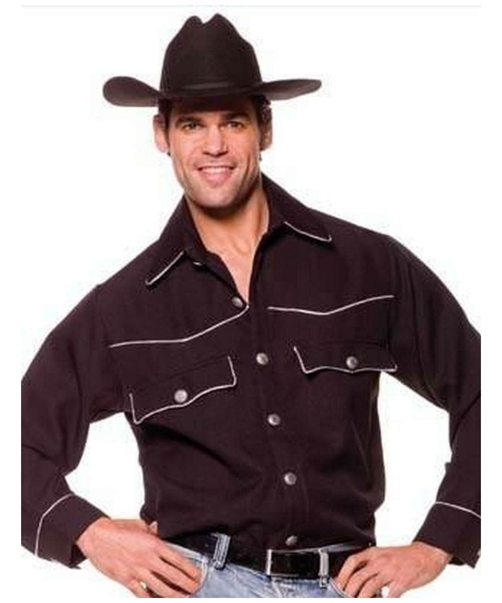 cowboy shirt male costume cowboy halloween costumes
