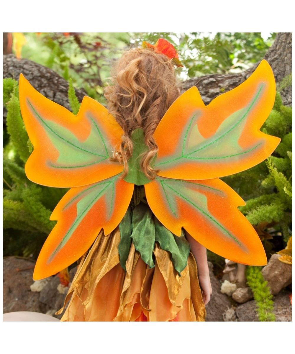 Autumn Fairy with wings