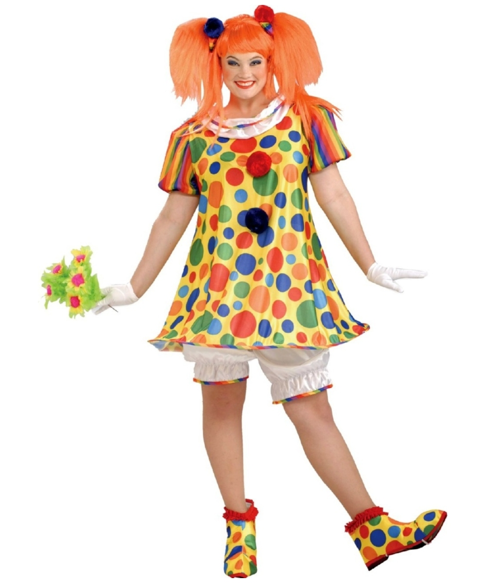 Giggles Clown plus size Costume