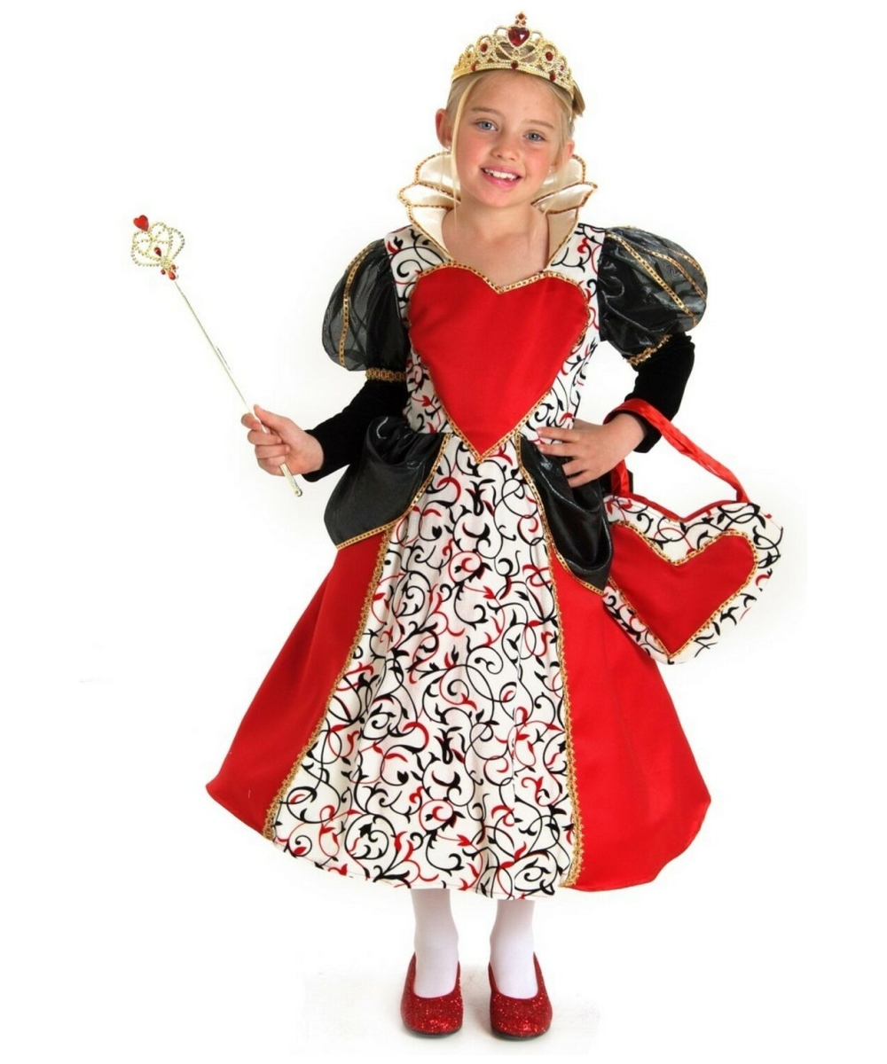 queen of hearts kids disney girl costume disney costumes
