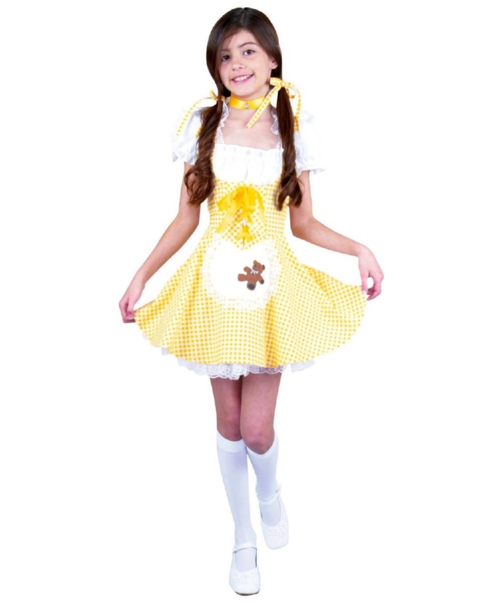 sc 1 st  Wonder Costumes & Goldie Locks Costume - Kids Halloween Costumes