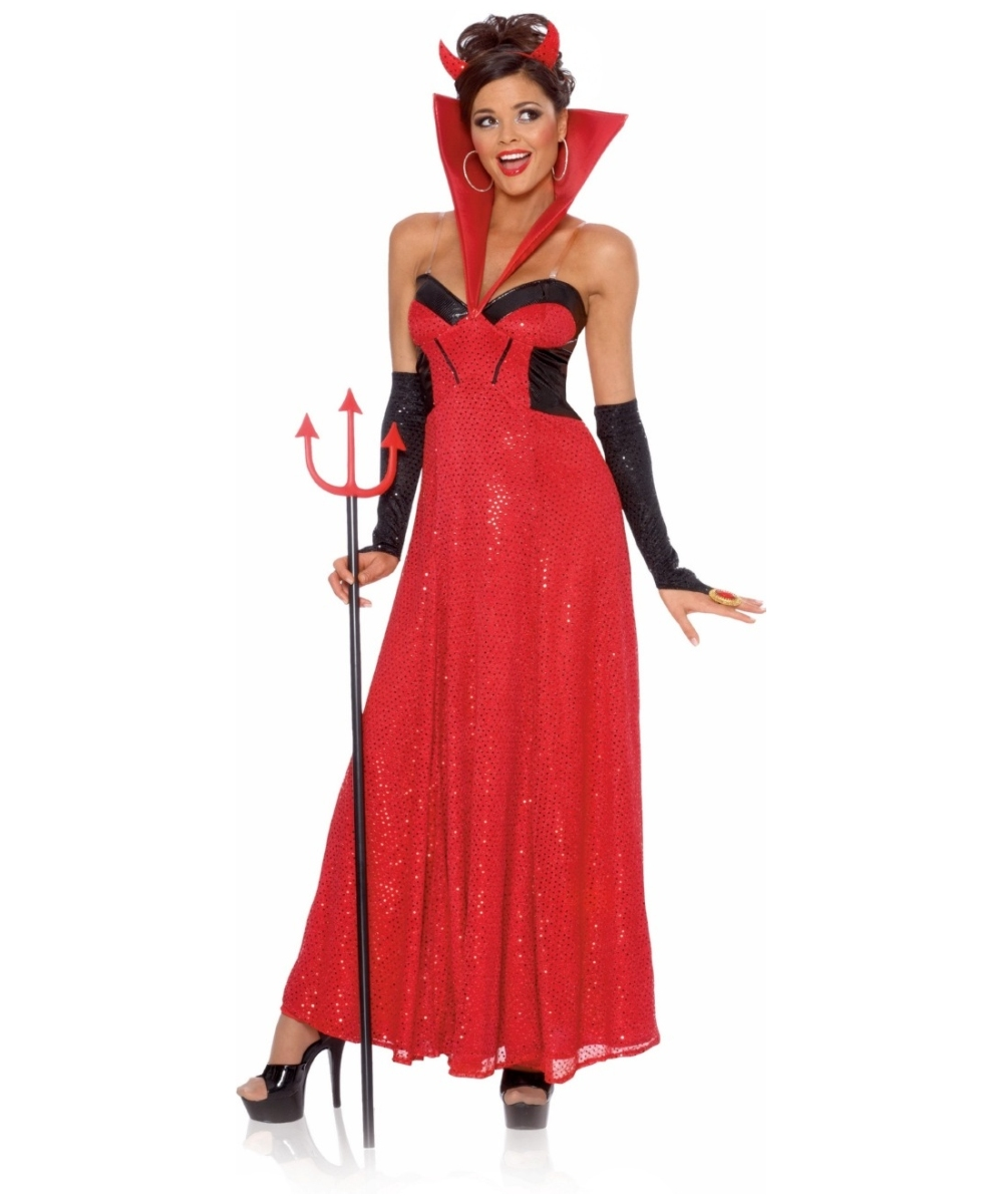 Devil Hollywood Costume Women Halloween Costumes