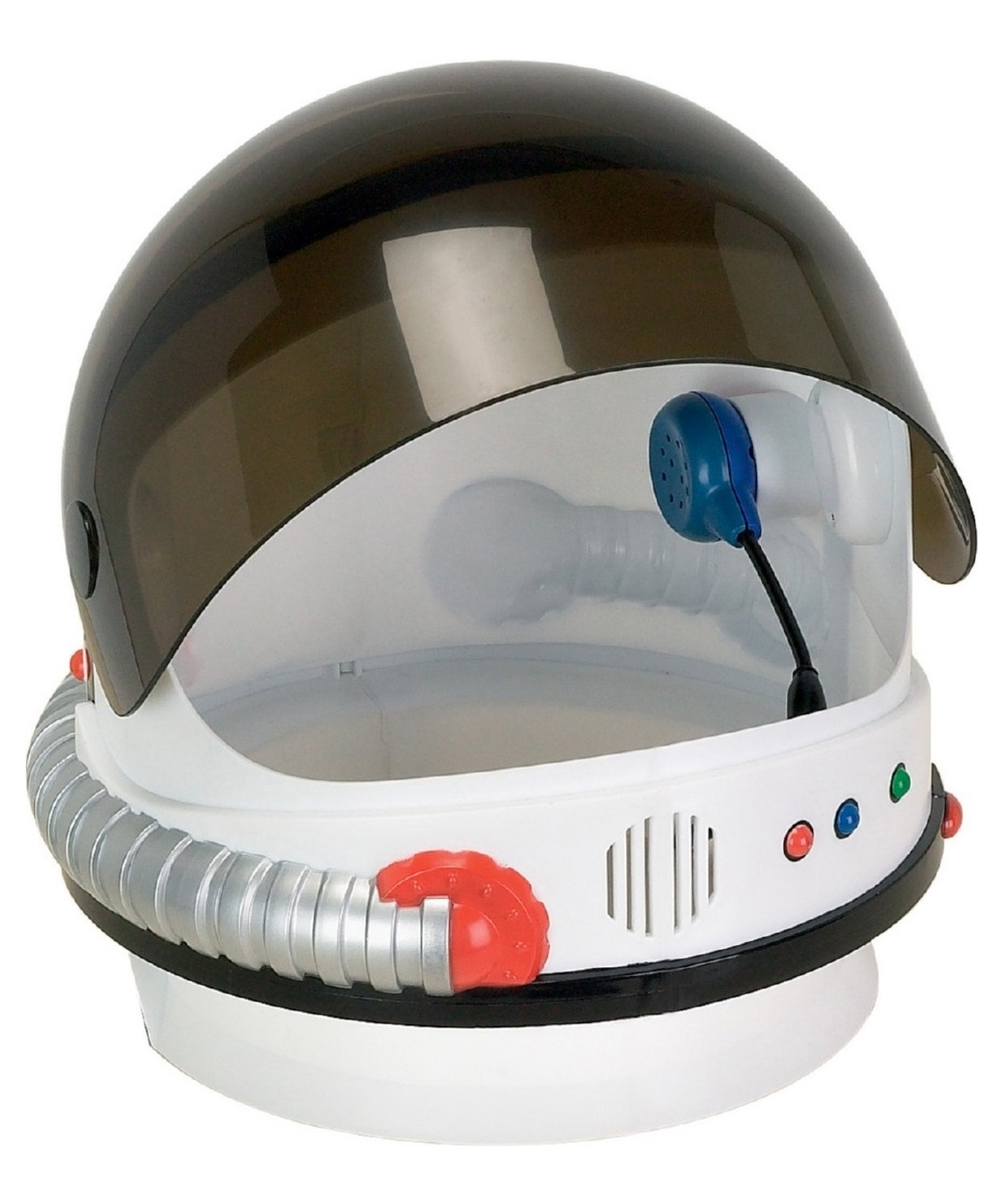 Astronaut Jr Kids Helmet Costume Accessory - Boy Astronaut ...
