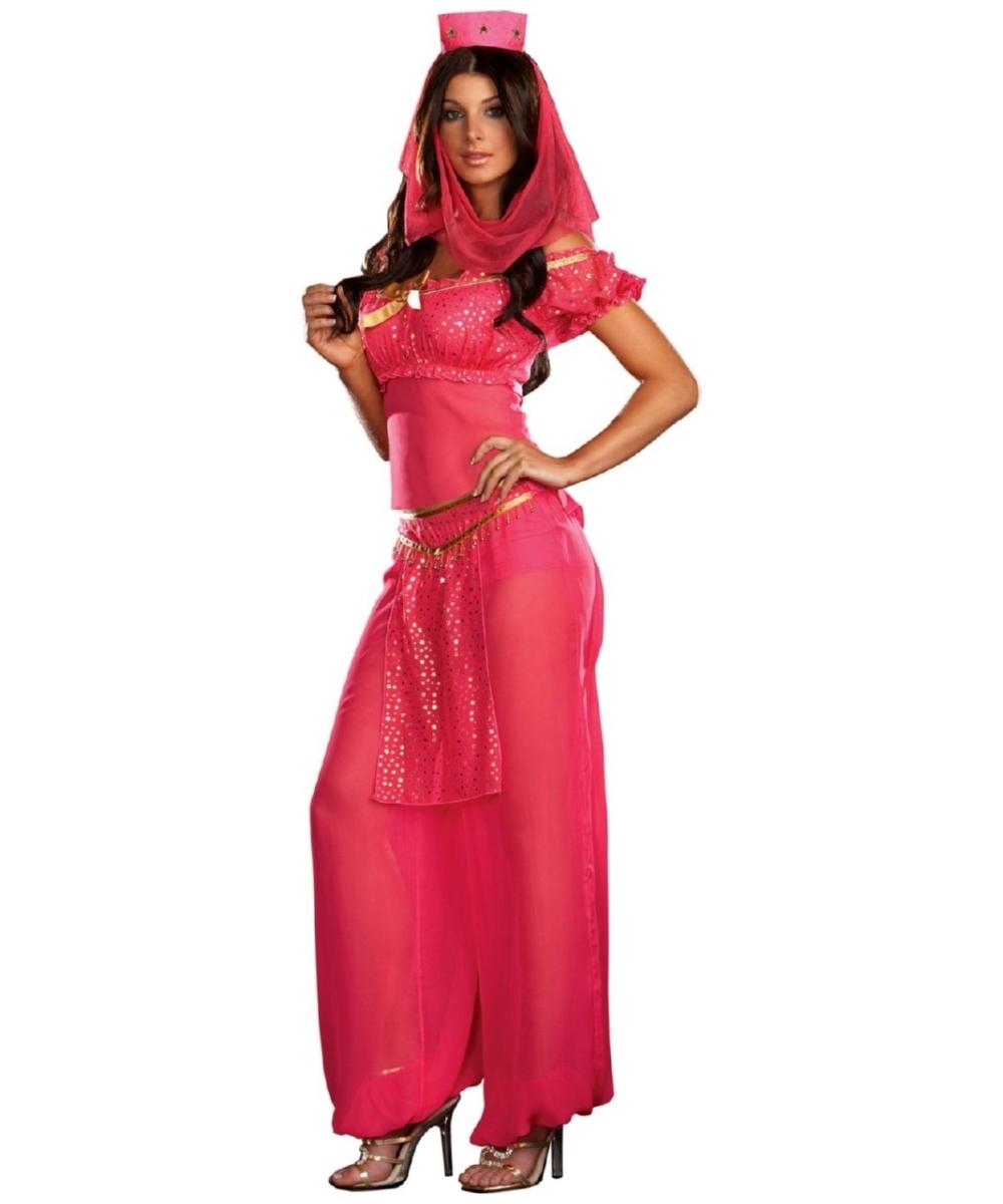 sc 1 st  Wonder Costumes & Genie May K. Wish Adult Costume - Women Genie Costumes