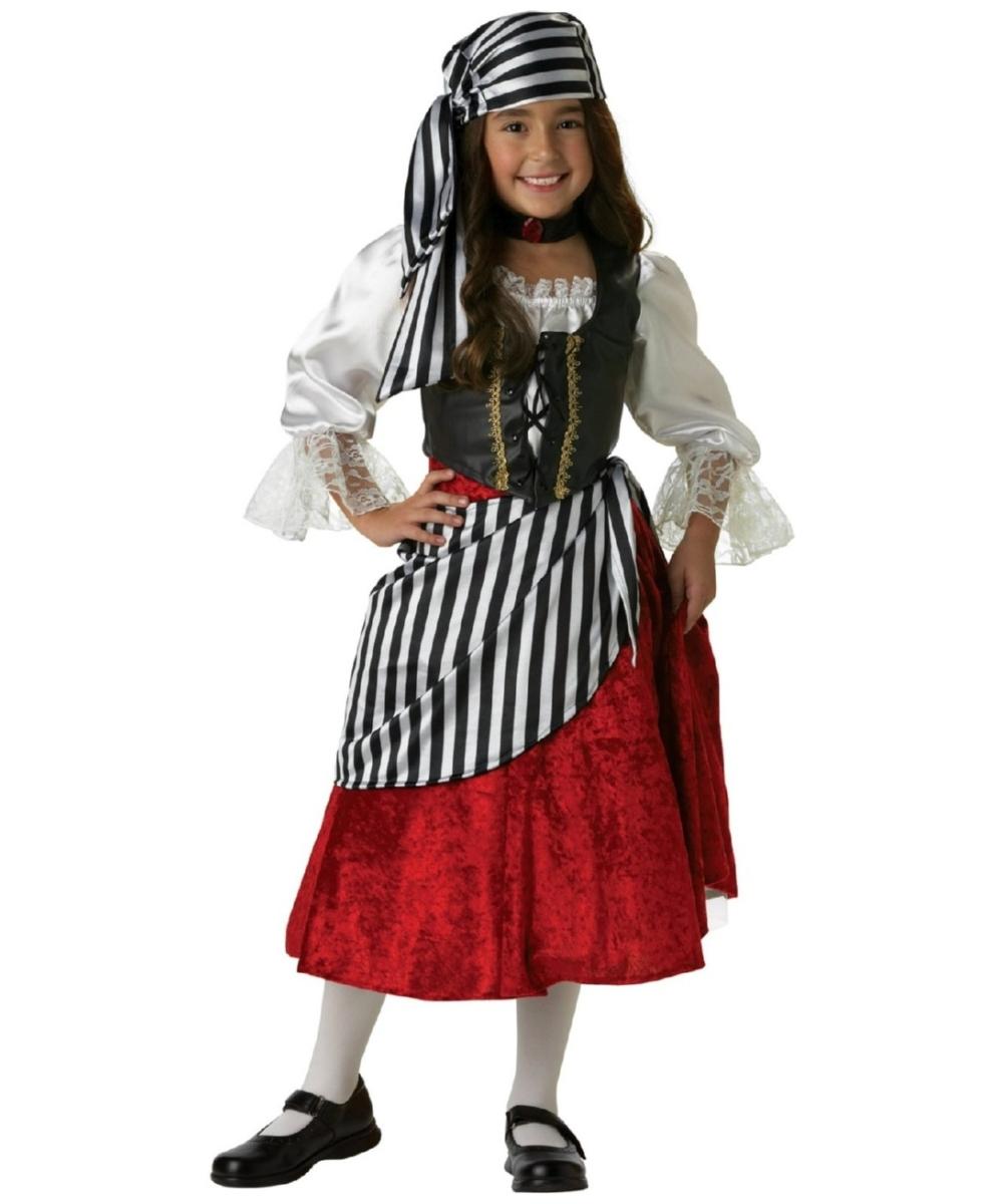 Kids Pirate Girl Halloween Costume Pirate Costumes