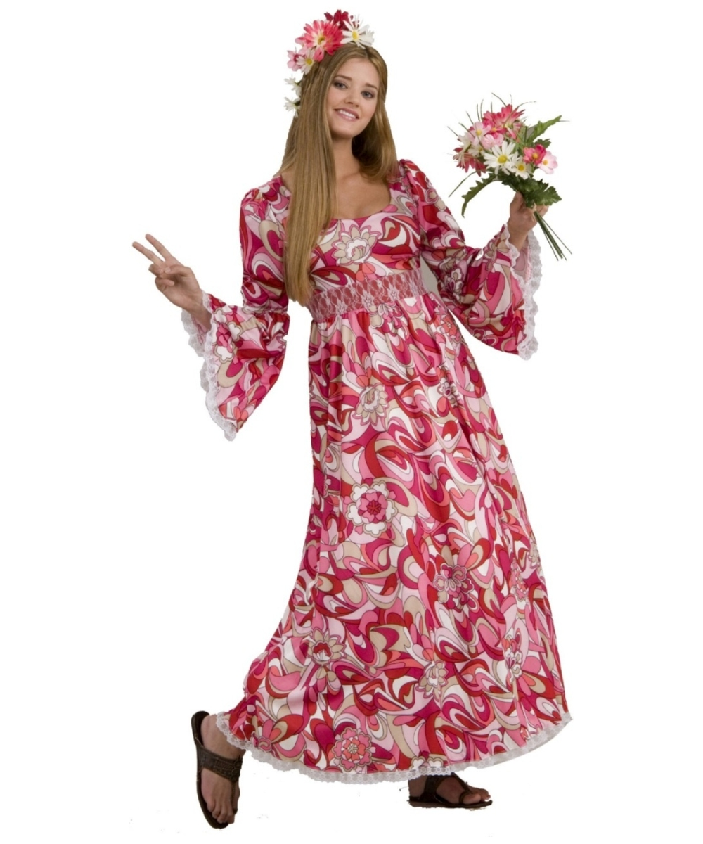 Long Flower Costume