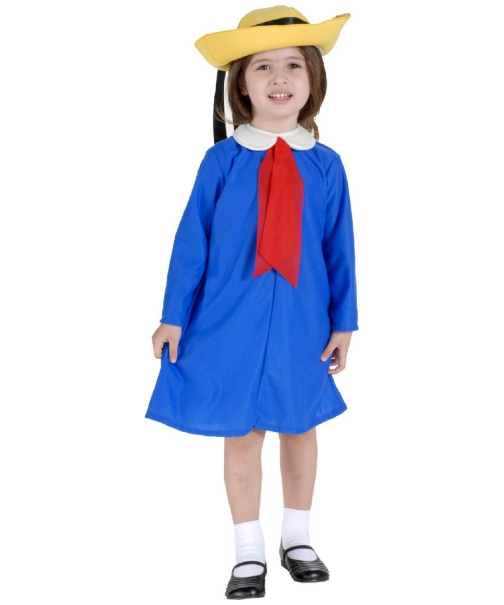 Madeline Toddler Girl Costume