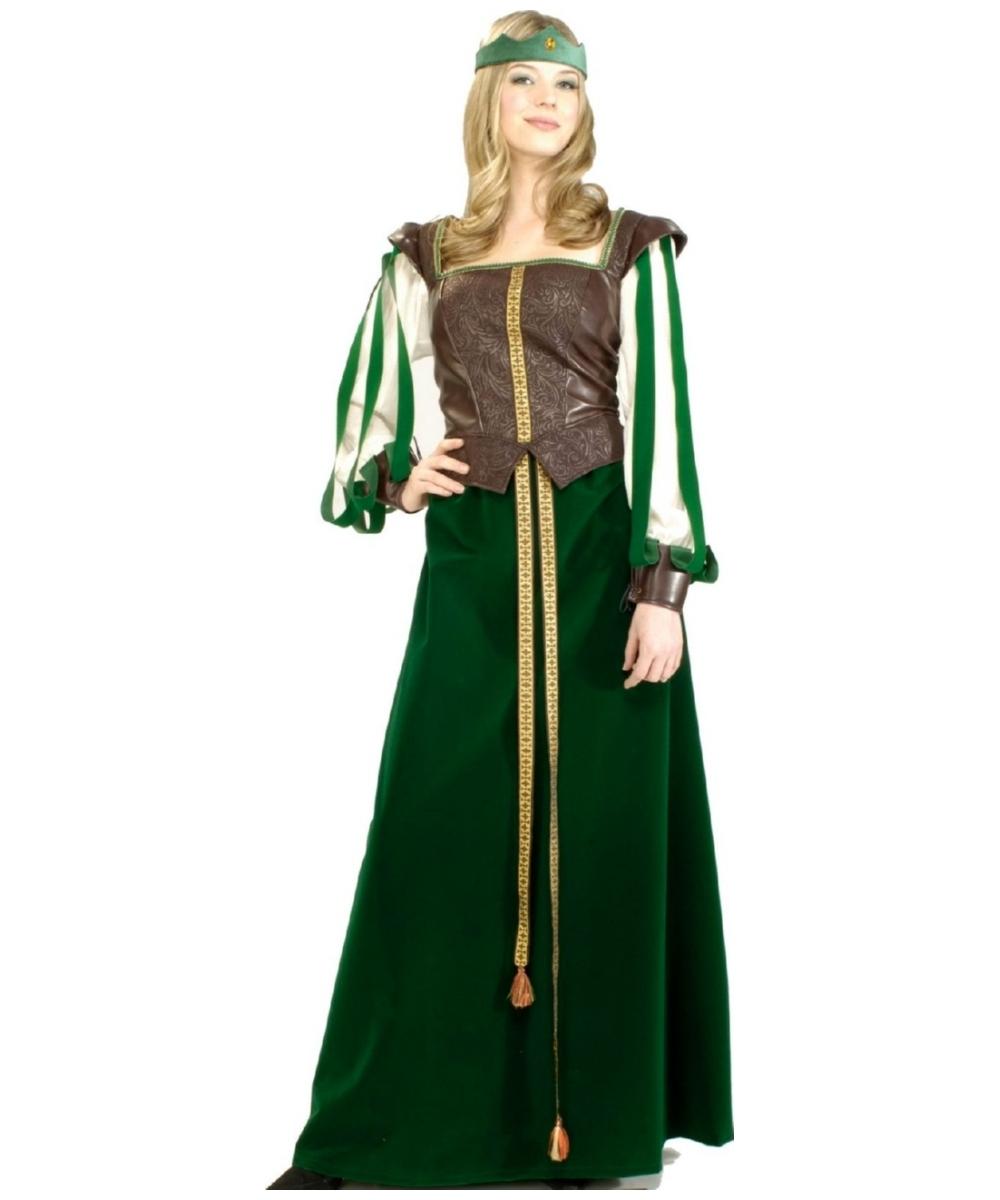 Maid Marion Women Costume Deluxe  sc 1 st  Wonder Costumes & Maid Adult Costume - Women Maid Costumes