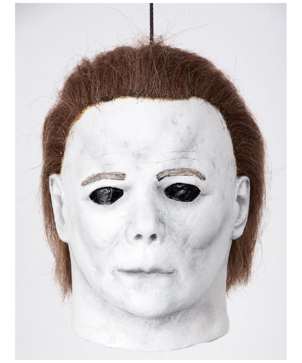 Michael Myers Head Halloween Decoration Myers Myers Costume