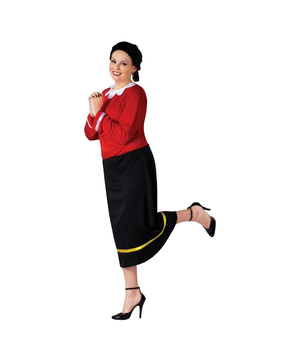 Sailor Olive Oyl Popeye Adult Costume - Plus size Sailor Costumes