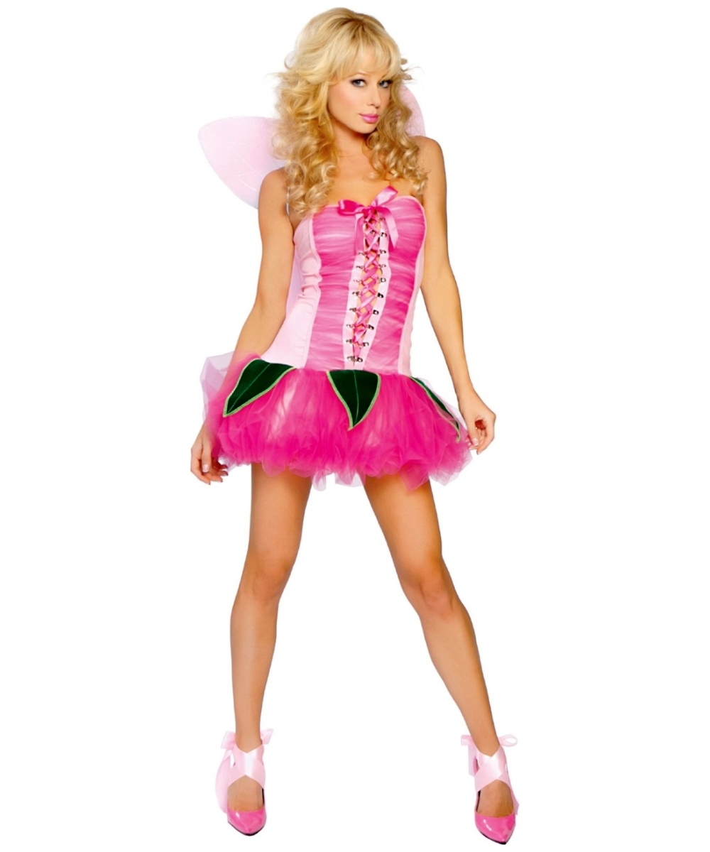 pink pixie costume - adult halloween costumes