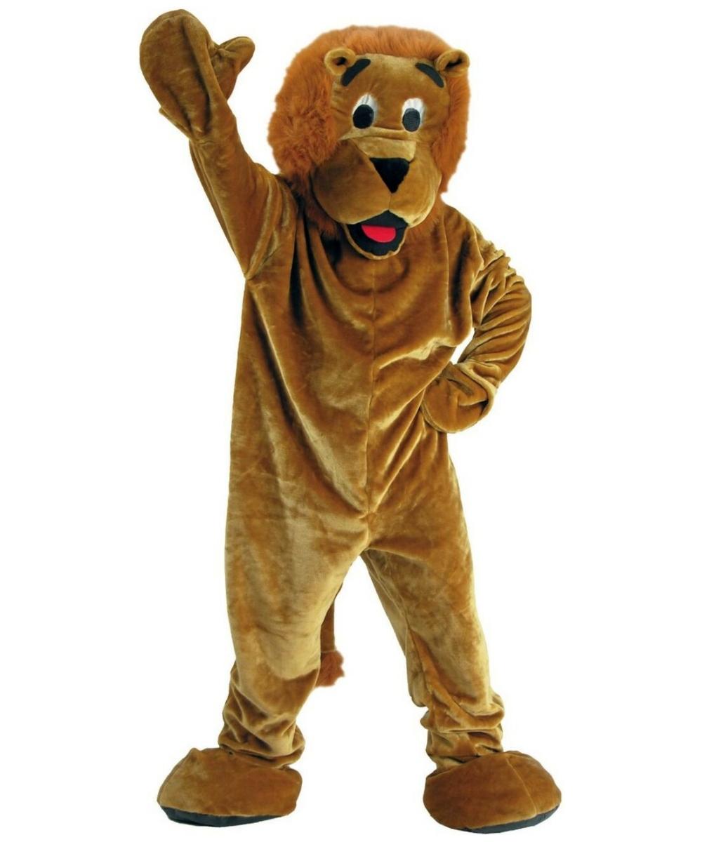 Lion Roaring Mascot Costume Adult Economy