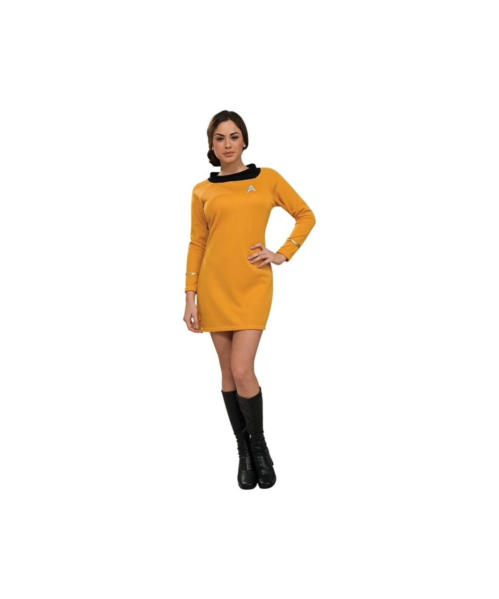 Star Trek Gold Women Dress Costume