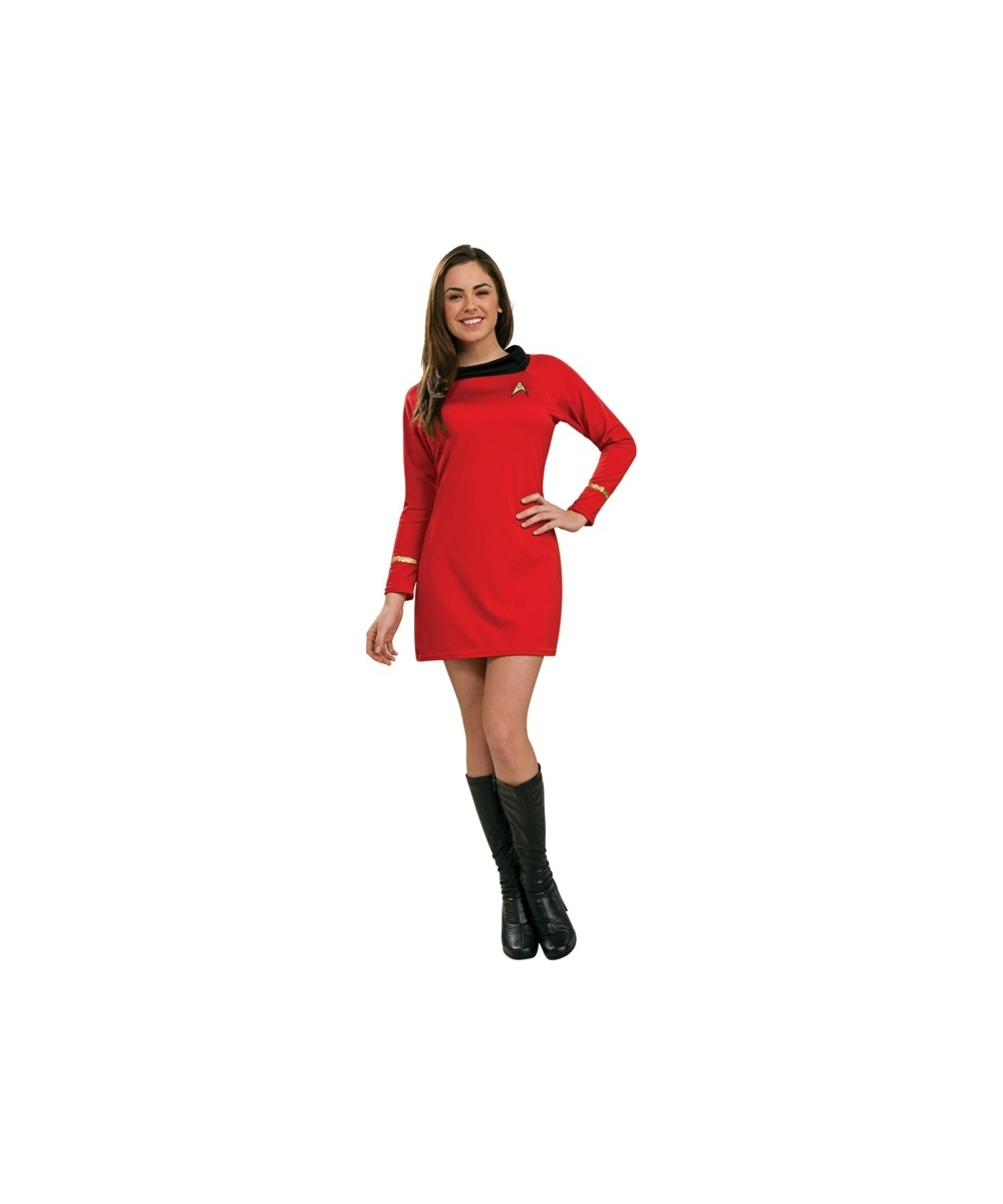 Star Trek Red Women Costume