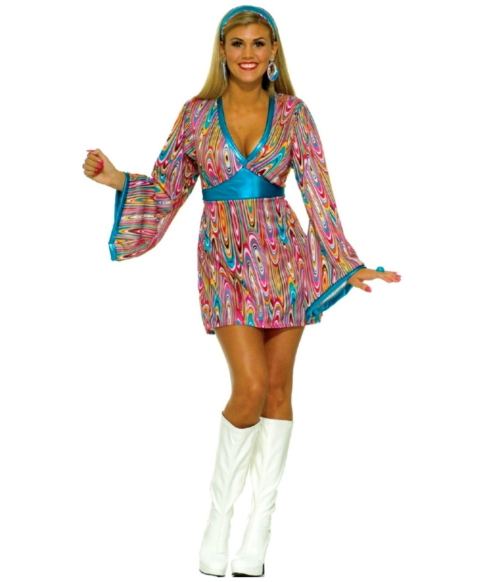 Swirl Dress Women Costume