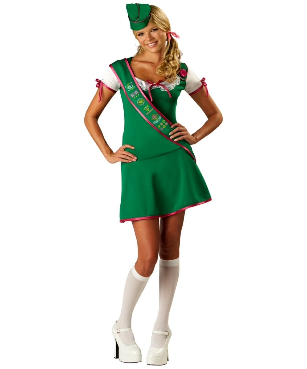 troop girl scout costume kids halloween costumes