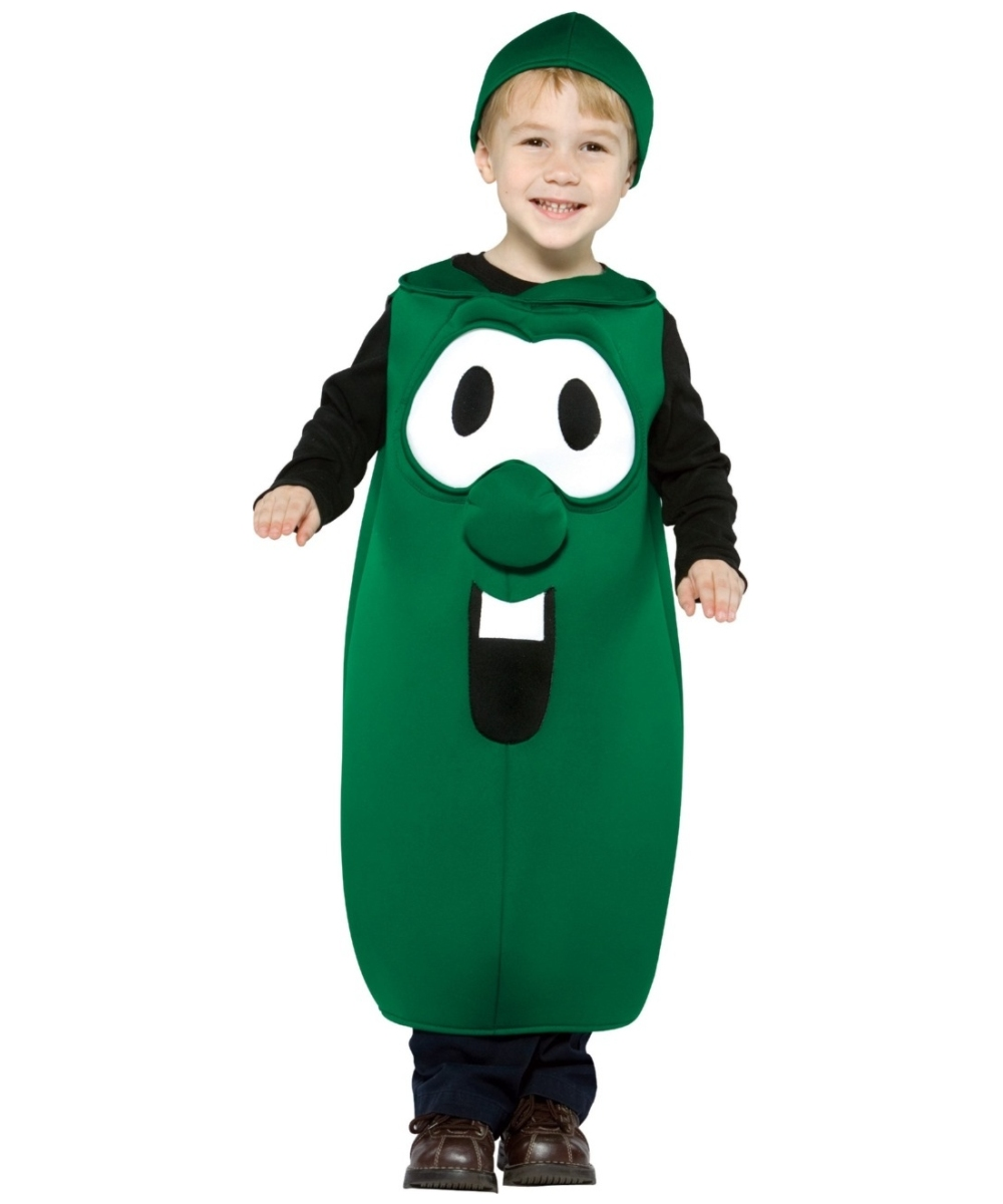 veggie tales larry the cucumber costume kids halloween