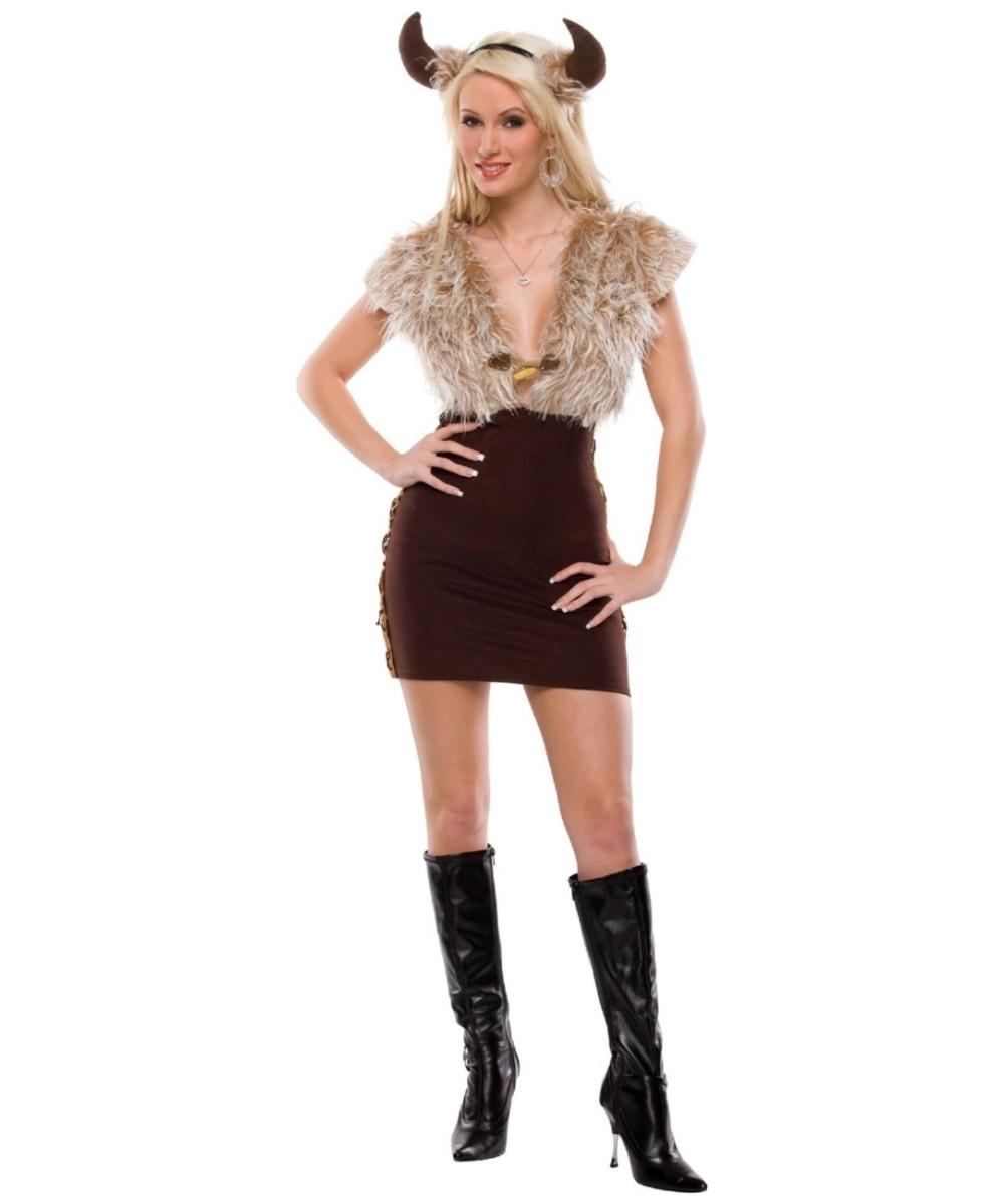 2911e5ec Viking Vixen Adult Costume - Women Movie Costumes