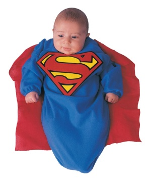Superman Baby Costume deluxe