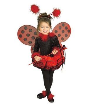 Lady Bug Costume - Toddler/child Costume - deluxe