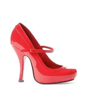 Babydoll Red Adult Shoes