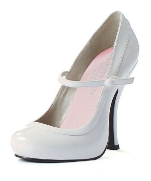 Babydoll White Adult Shoes