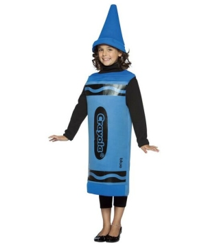 Blue Crayola Crayon Kids Costume