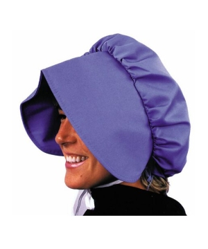Blue Pioneer Bonnet - Costume Accessory
