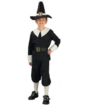 Pilgrim Boy Kids Costume