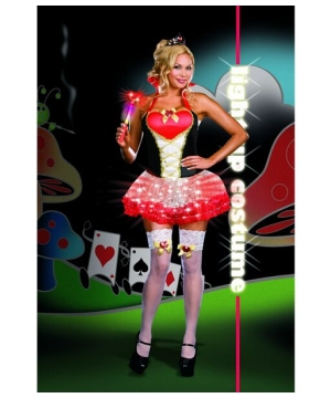 Queen of Heart Breakers Adult plus size Costume