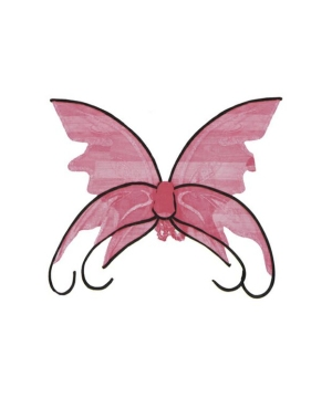 Butterfly Wings Pinkblack