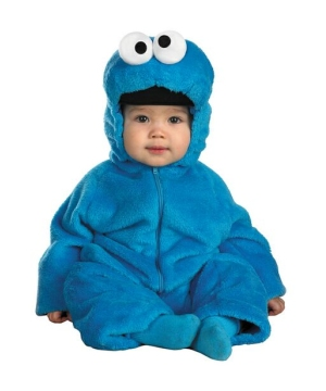 Sesame Street Cookie Monster Baby Costume deluxe