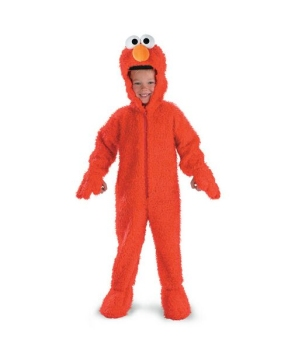 Sesame Street Elmo Plush Toddler Costume deluxe