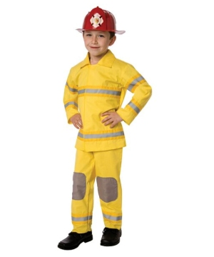 Little Fireman Child Costume