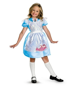 Alice in Wonderland Classic Girls Costume