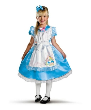 Girls Alice Movie Costume