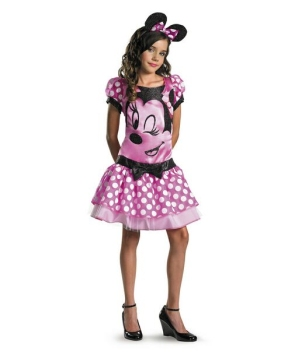Clubhouse Minnie Mouse Girls Costume